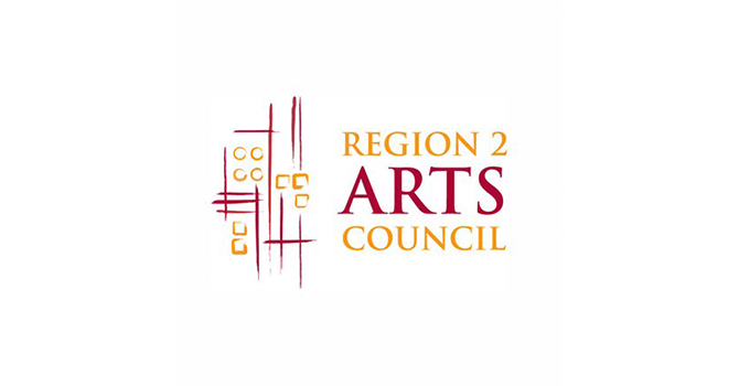 2 Region 2 arts council logo