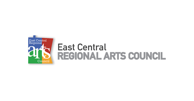 East Central Arts Council Logo