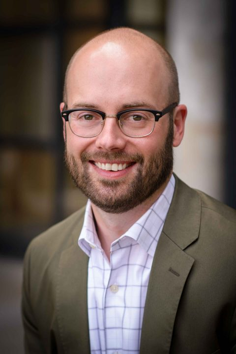 Program Officer, Midwest Climate and Energy, Brendon Slotterback Headshot
