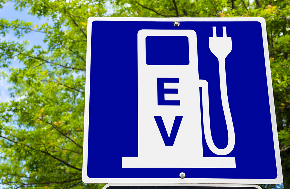EV Sign Small Photo Template