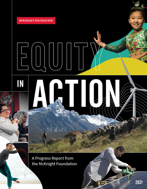 Equity in Action report cover