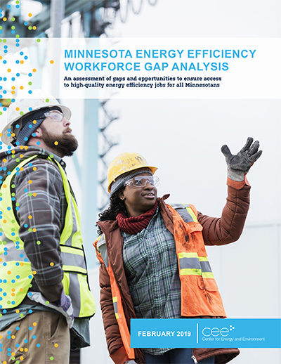 MN Energy Efficiency Workforce Gap 3 1 19 Cover