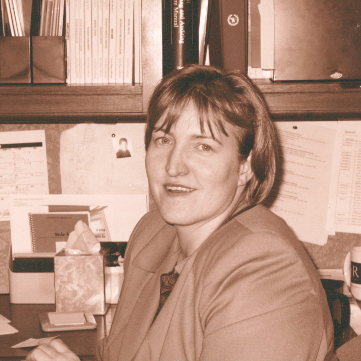 Controller Therese Casey in 1999