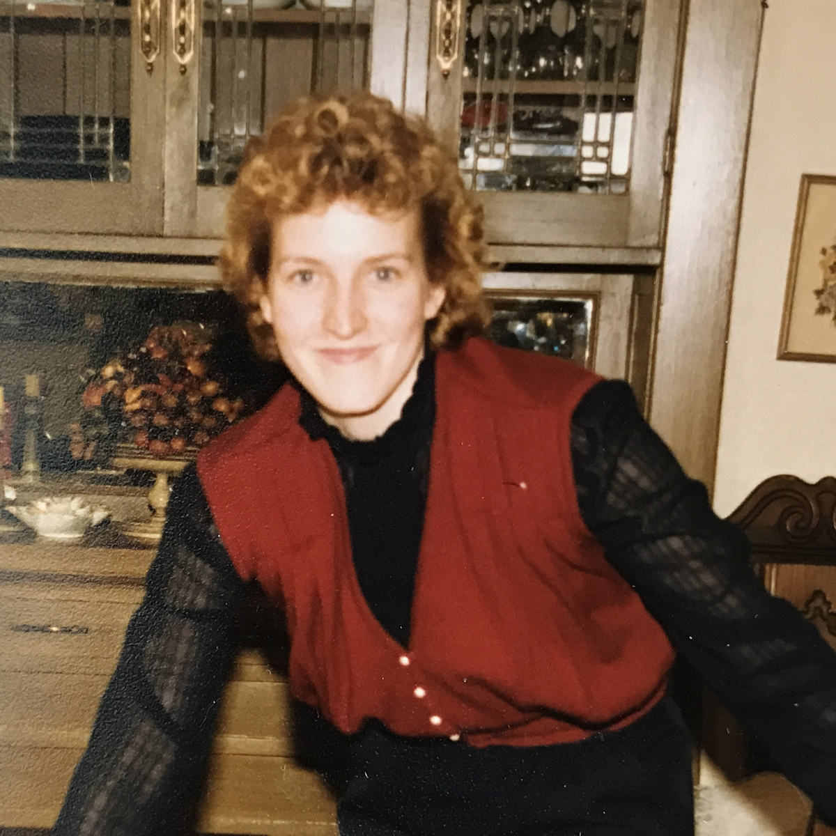Controller Therese Casey in 1988