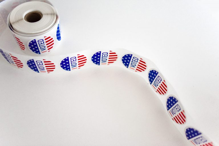 America American Flag Ballot 1550336
