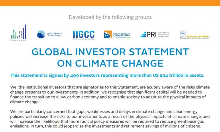 Global Investor Statement Image
