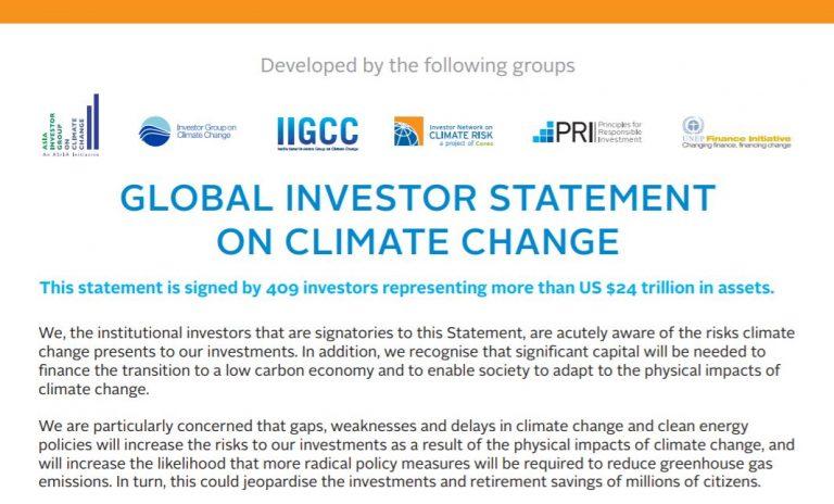 Global Investor Statement Image