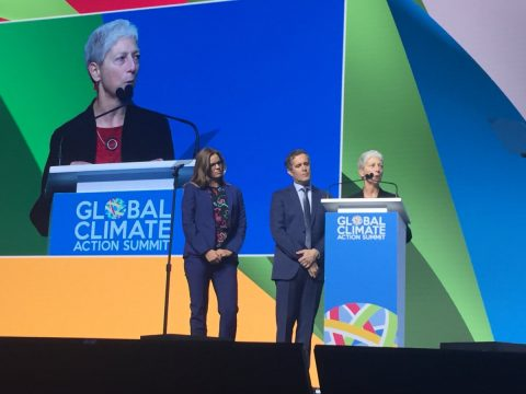 Kate Wolford Speaks at Global Climate Action Summit