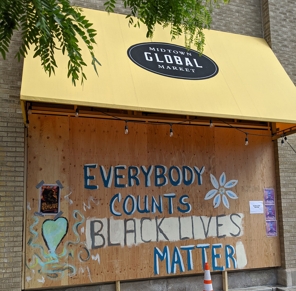 Midtown Global Market Black Lives Matter