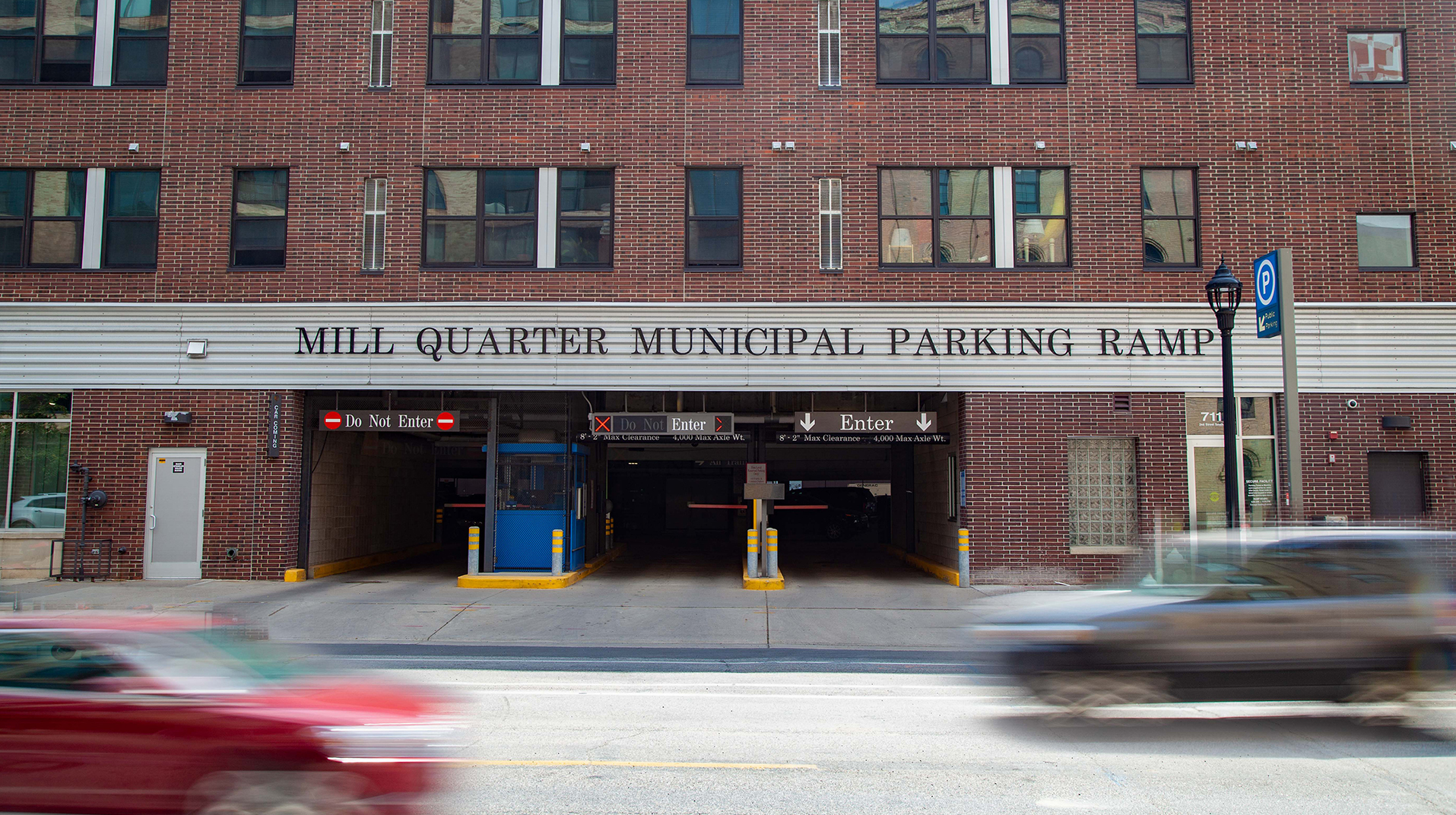 Mill Quarters Municipal Parking Ramp