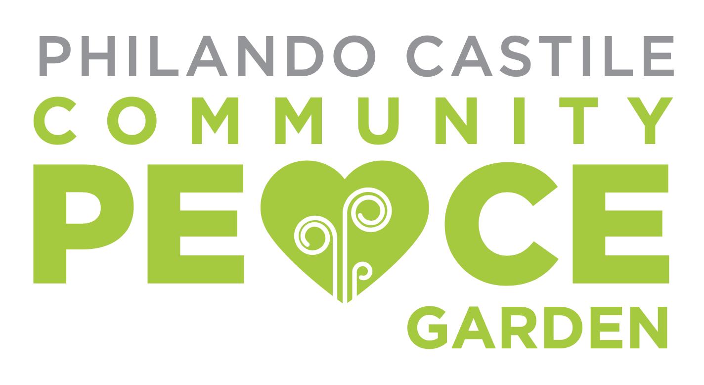 Philando Castile Community Peace Garden Logo