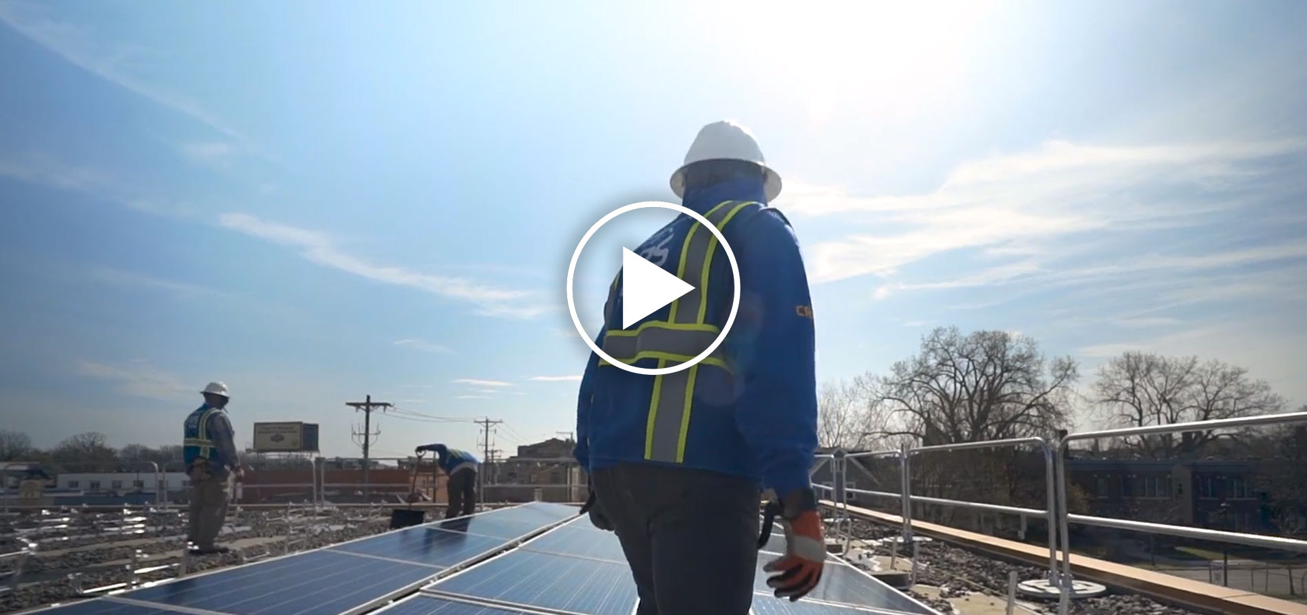 Power of MN Thumbnail - Solar worker on rooftop