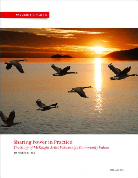 Sharing Power Cover