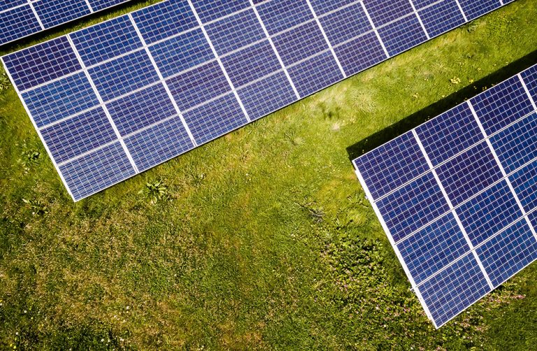 Solar Panels Small Photo Template